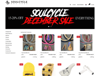 soulcycle.com screenshot
