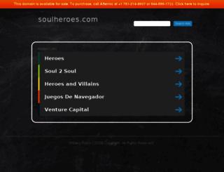 soulheroes.com screenshot