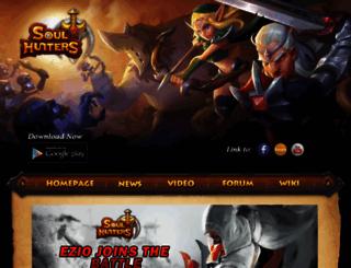 soulhuntersgame.com screenshot