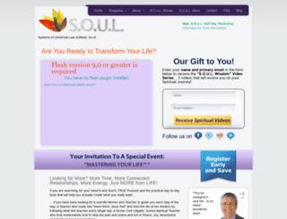 soulinstitute.com screenshot