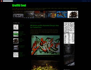 soulofgraffiti.blogspot.de screenshot