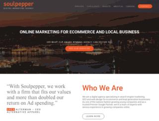soulpepper.com screenshot