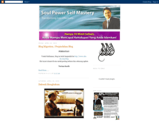 soulpower-kuasajiwa.blogspot.com screenshot