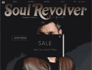 soulrevolver.co.uk screenshot