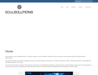 soulsolutions.com.au screenshot