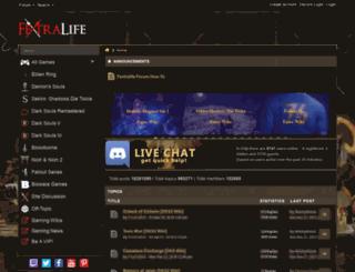 soulswiki.forumsrpg.com screenshot