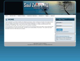 soulzentre.co.za screenshot