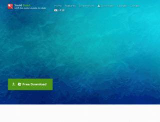 sound-expert.com screenshot