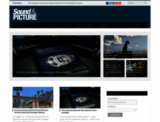 soundandpicture.com screenshot