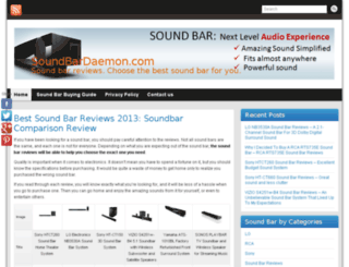 soundbardaemon.com screenshot