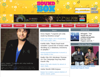 soundbox.co.in screenshot
