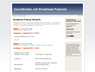 soundbreaks.net screenshot