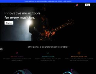 soundbrenner.com screenshot
