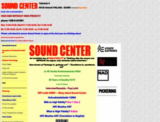 soundcenter.fi screenshot