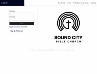 soundcity.ccbchurch.com screenshot