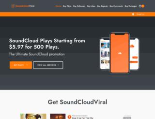 soundcloudviral.com screenshot