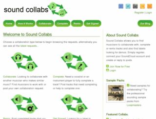 soundcollabs.com screenshot