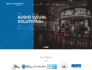 soundcorp.com.au screenshot