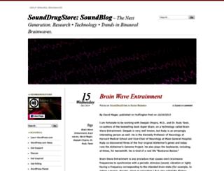 sounddrugstore.wordpress.com screenshot