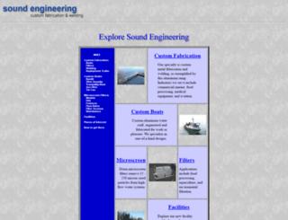soundengineering.com screenshot