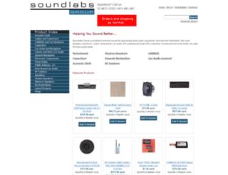 soundlabsgroup.com.au screenshot