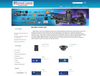 soundland.in screenshot