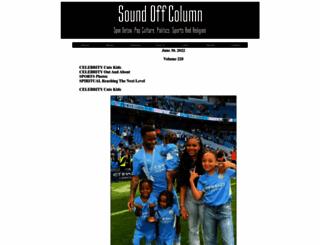 soundoffcolumn.com screenshot