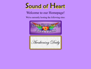 soundofheart.org screenshot
