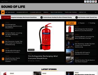 soundoflife.net screenshot