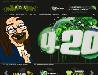 soundronearmy.com screenshot