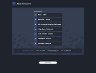 soundsbox.com screenshot