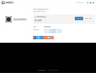 soundspeaks.com screenshot