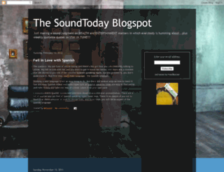 soundtoday.blogspot.com screenshot