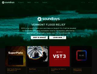 soundtoys.com screenshot
