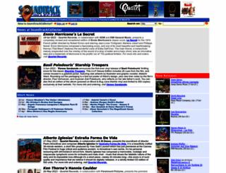soundtrackcollector.com screenshot