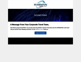soundtrax.harman.com screenshot