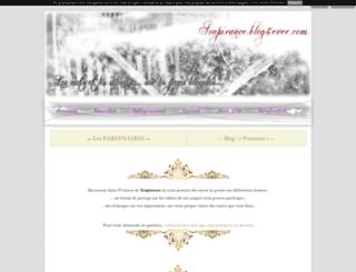 soupirance.blog4ever.com screenshot
