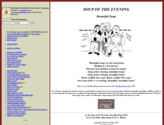 soupsong.com screenshot