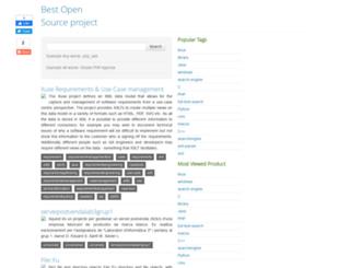 source-projects.appspot.com screenshot