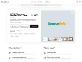 sourcebolt.com screenshot