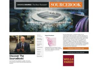 sourcebook.sddt.com screenshot