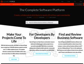 sourceforge.net screenshot