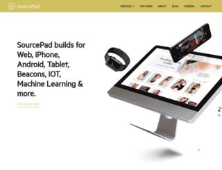 sourcepad.com screenshot