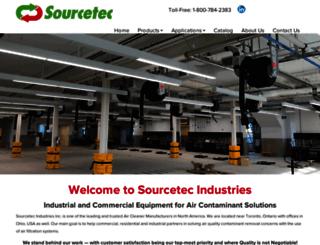 sourcetecindustries.com screenshot