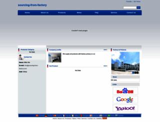 sourcing-from-factory.com screenshot
