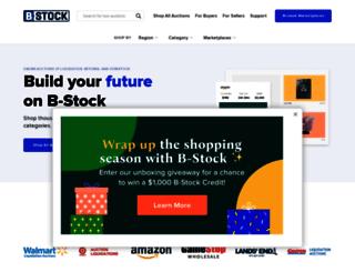 sourcing.bstocksolutions.com screenshot