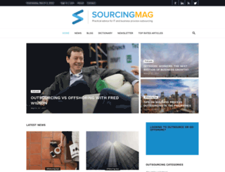 sourcingmag.com screenshot
