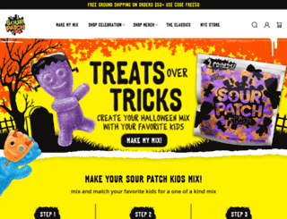 soursweetgone.com screenshot
