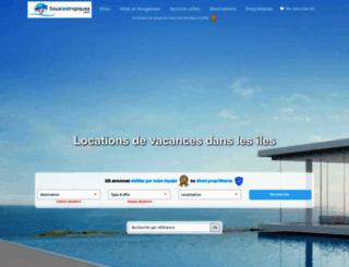 souslestropiques.com screenshot