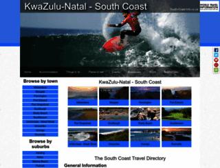 south-coast-info.co.za screenshot